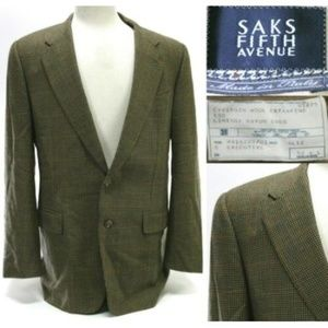 Corneliani Saks Fifth Avenue Men's Blazer Size 42L